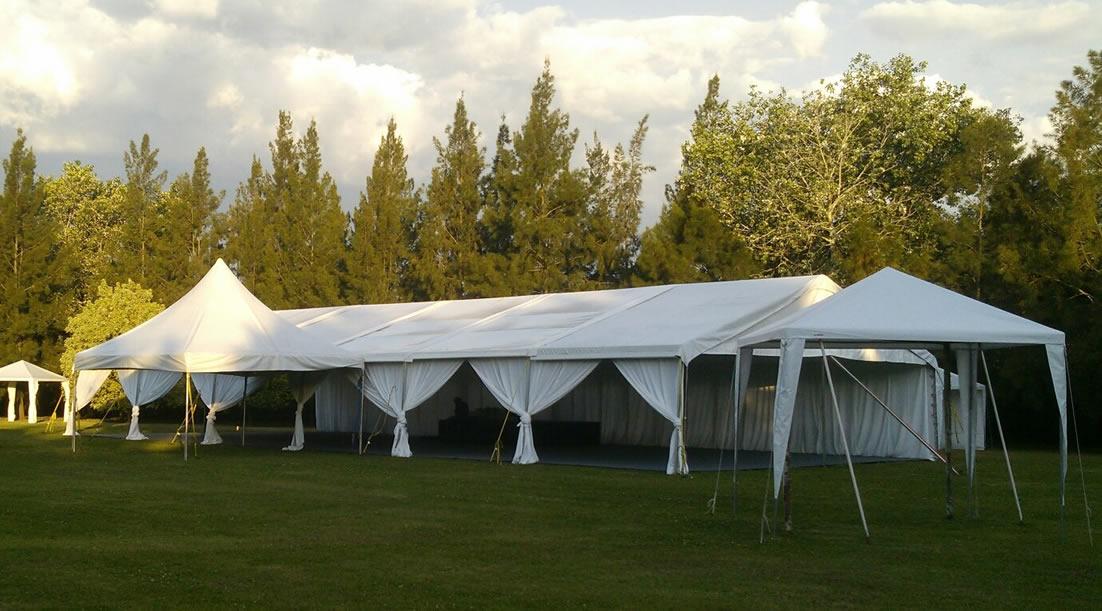 Alquiler e instalación de carpas para eventos en La PLata